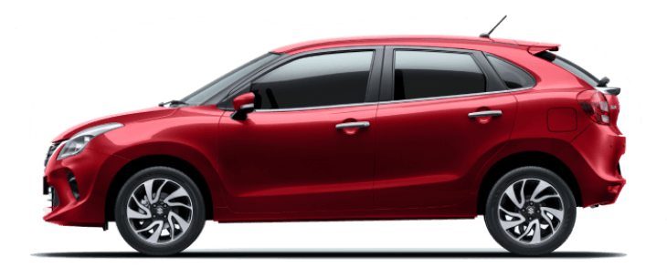 Maruti Suzuki Baleno Red Colour